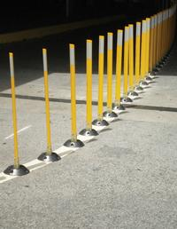 Surface Mount Flexible Stakes