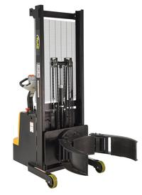 Fully Powered Stacker with Drum Grip/Rotate