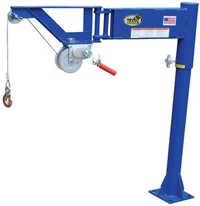Winch Operated Van Jib Crane