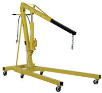 Air/Hand Pump Hydraulic Shop Crane